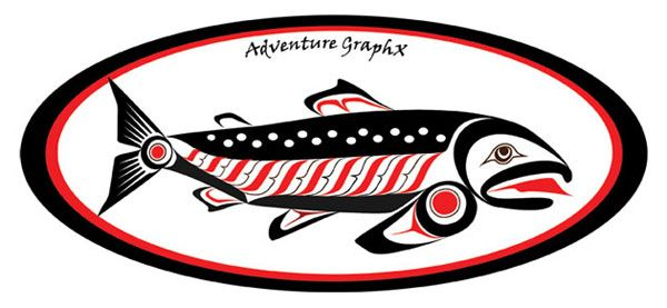 Infona Pnw Salmon Arthtm Indian Art Native American Clipart