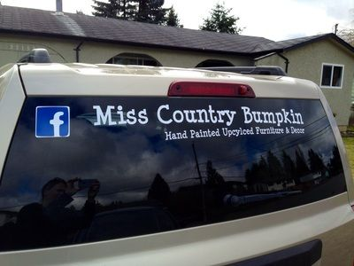 Customize And Brand Your Business Drive Traffic To Your Facebook - Custom vinyl car decals canada