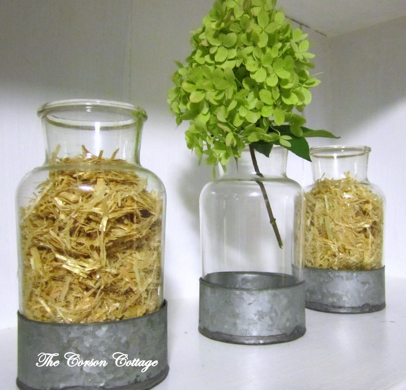 Great idea using mini hay bales as a vase filler for fall decor using mini hay bales as a vase filler for fall decor the corson cottage fall vase fillers reviewsmspy