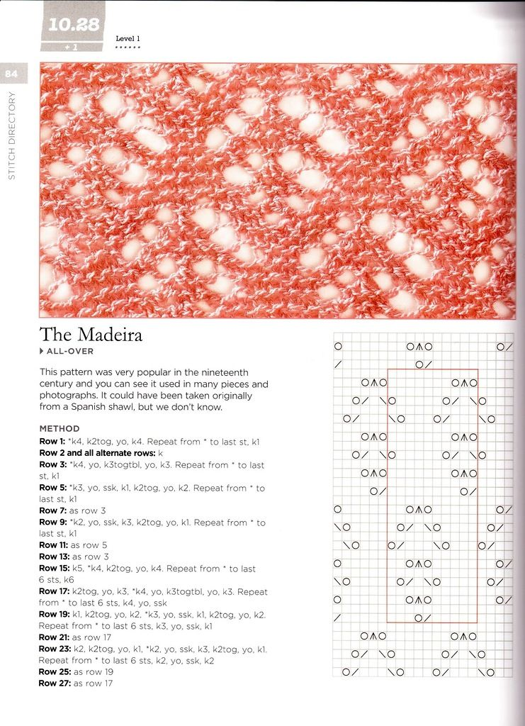 The Madeira lace stitch | kotes | Pinterest | Puntadas, Dos agujas y ...