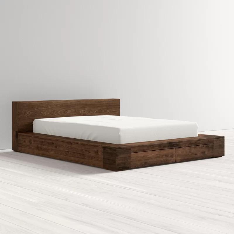 Jacoby Storage Platform Bed In 2020 Platform Bed Designs Low