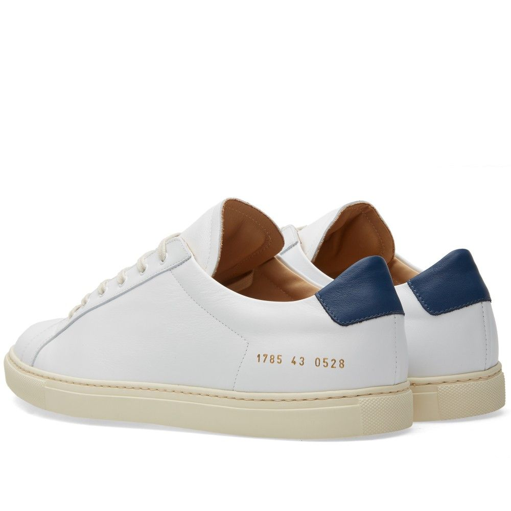 Common Projects Achilles Retro Low (White & Navy)