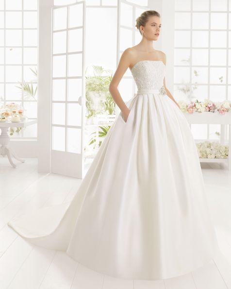 mexico vestido de novia de aire barcelona 2016 | weddings | wedding