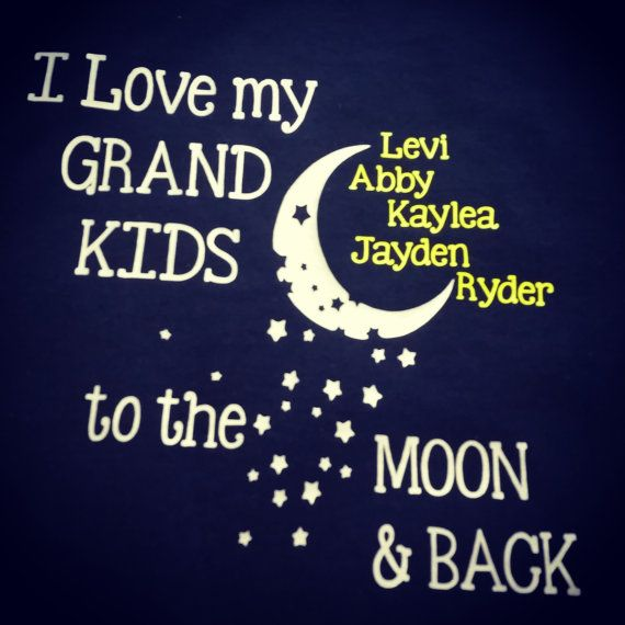 Download This shirt is the perfect gift for any grandparent! I Love ...