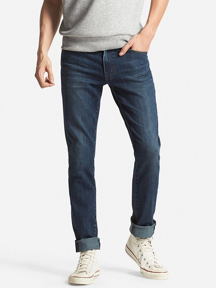 898f2a229a6 Uniqlo - MEN MIRACLE AIR Skinny Fit Jeans | proudly man | Denim ...