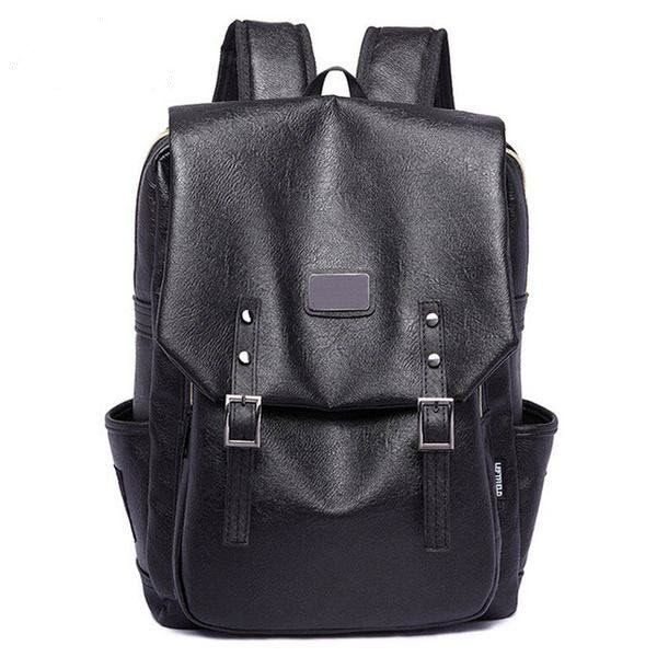 Men's Large Leather Backpack For Travel/Office/Sports | Best Pins ...