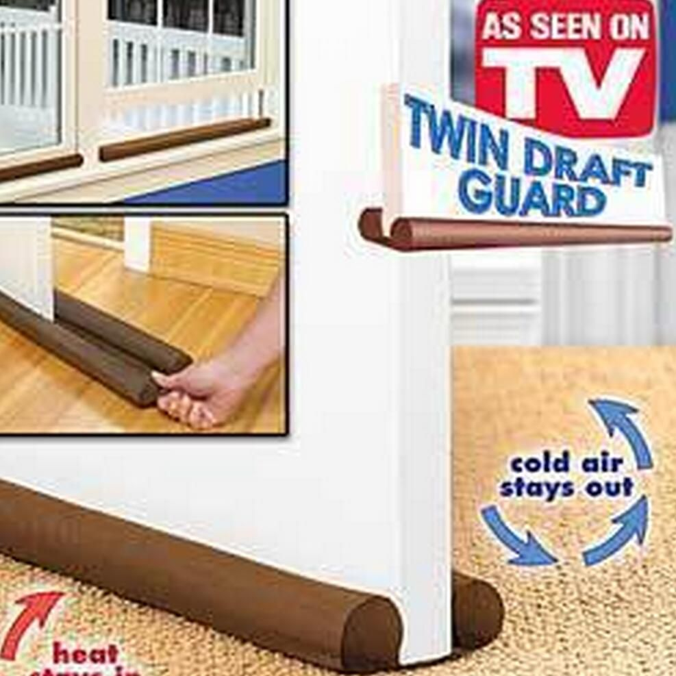 Hot Sale Brown Twin Door Draft Stopper Dual Draught Excluder Air Insulator W indows Dodger Guard  sc 1 st  Pinterest & Hot Sale Brown Twin Door Draft Stopper Dual Draught Excluder Air ... pezcame.com