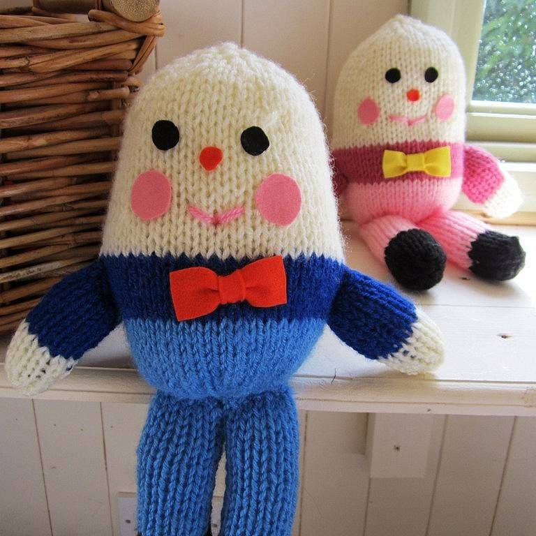 Humpty Dumpty Hand Knitted Soft Toy Humpty Dumpty Pinterest