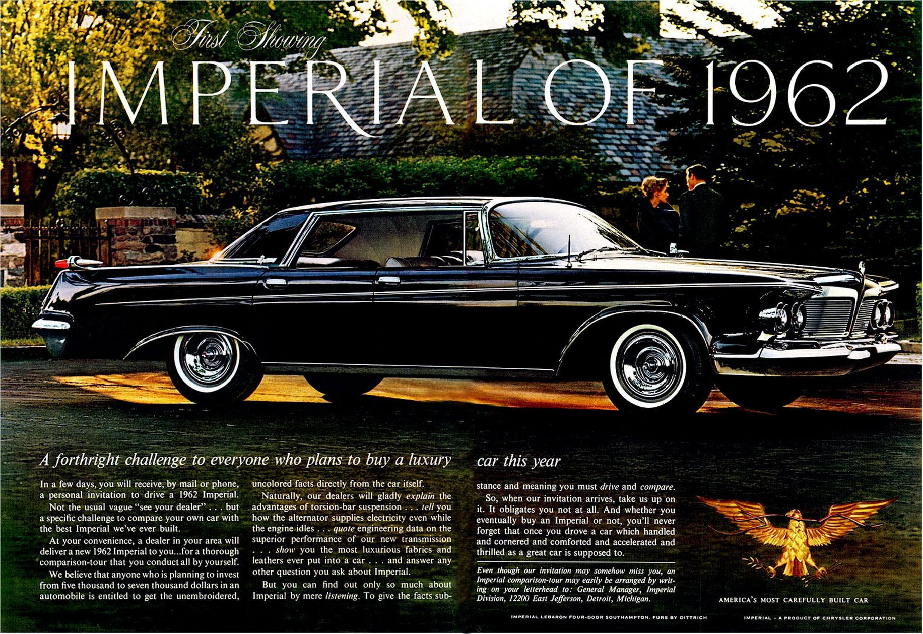 1962 Imperial Crown Four Door Southampton | Imperial: 1960 - 1965 ...