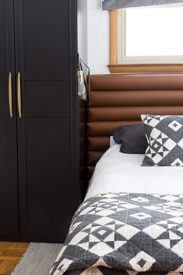40+ Notes on Leather Headboard Bedroom in an Easy to ...