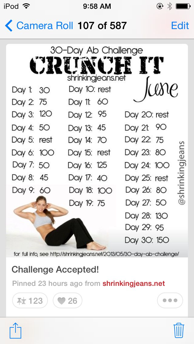 Sit up challange Other Pinterest Workout, Exercises and Fitspo