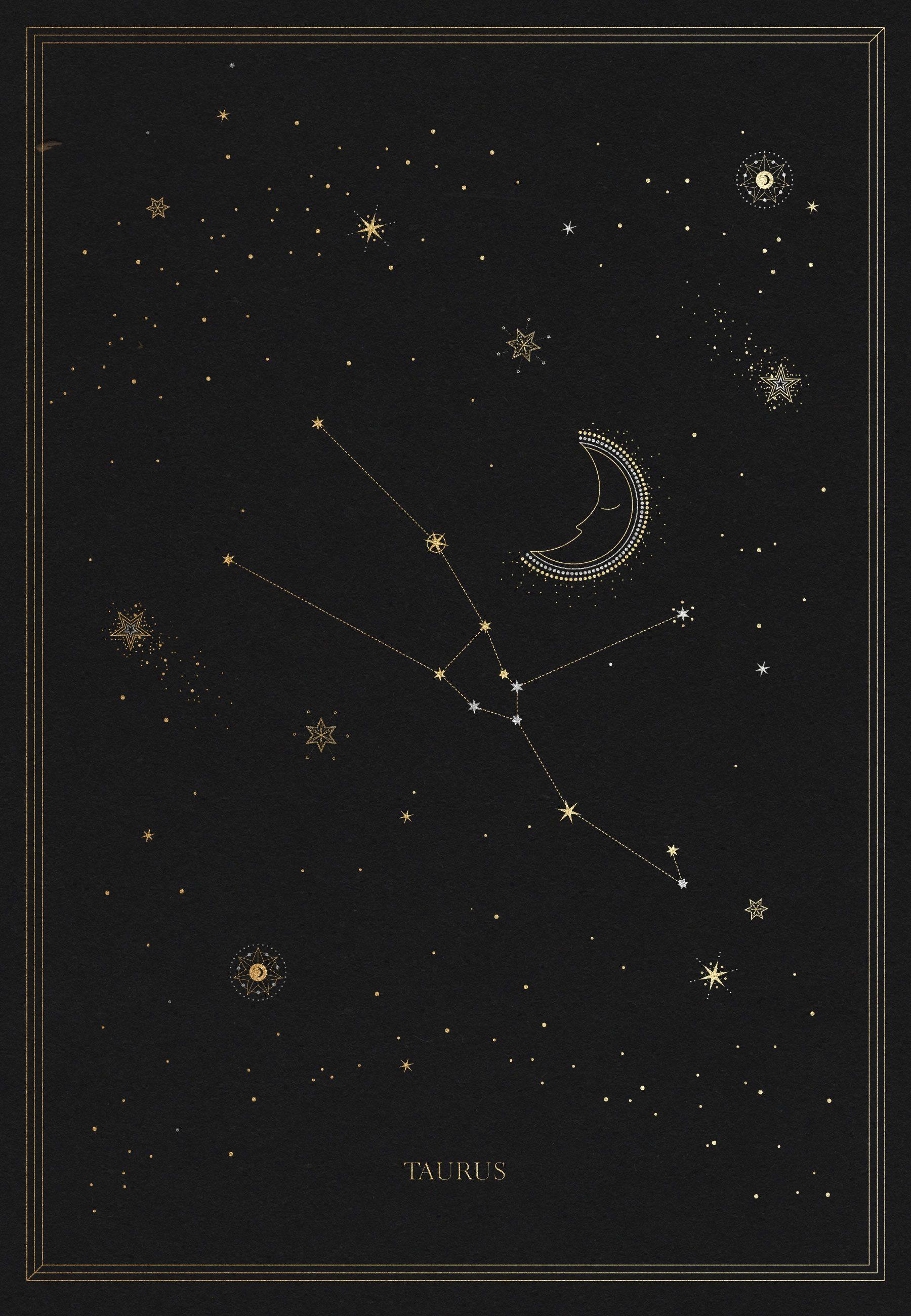 The Taurus Constellation en 2018 | Illustrations | Pinterest ...