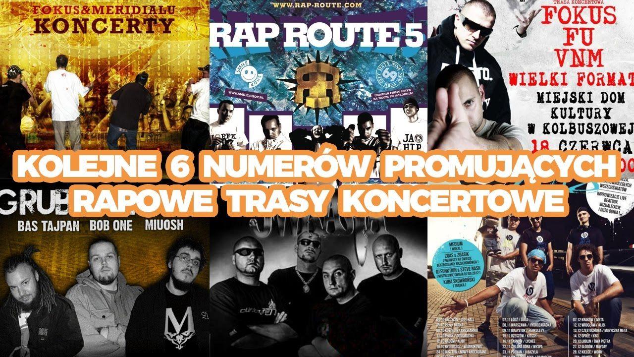 Rap Gadanina #22 - Kolejne 6 numerów promujących rapowe trasy koncertowe