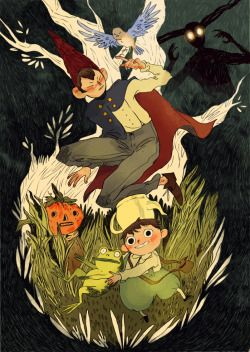 Well, I finally saw Over The Garden Wall and I'm absolutely in love. I've been days singing that frog's song! So here's some fanart.