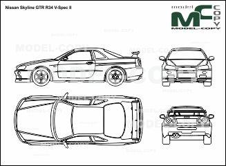 Nissan skyline gtr r34 v spec ii blueprints ai cdr cdw dwg nissan skyline gtr r34 v spec ii blueprints ai cdr cdw malvernweather Images