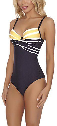 Feba Modellante Corpo Push Up Costume da Bagno per Donna SC1RL2T