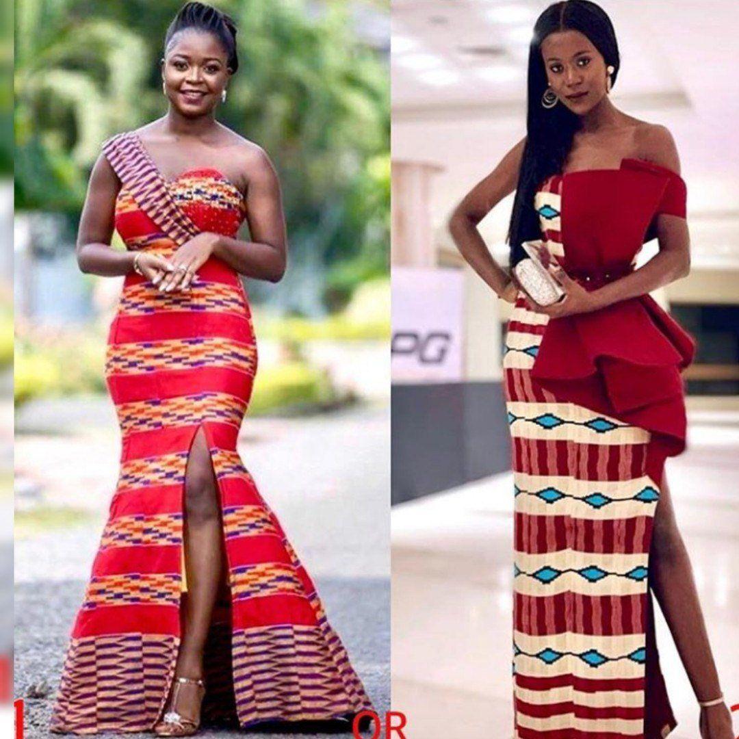 Prom 2020 African Print Dresses Ankara