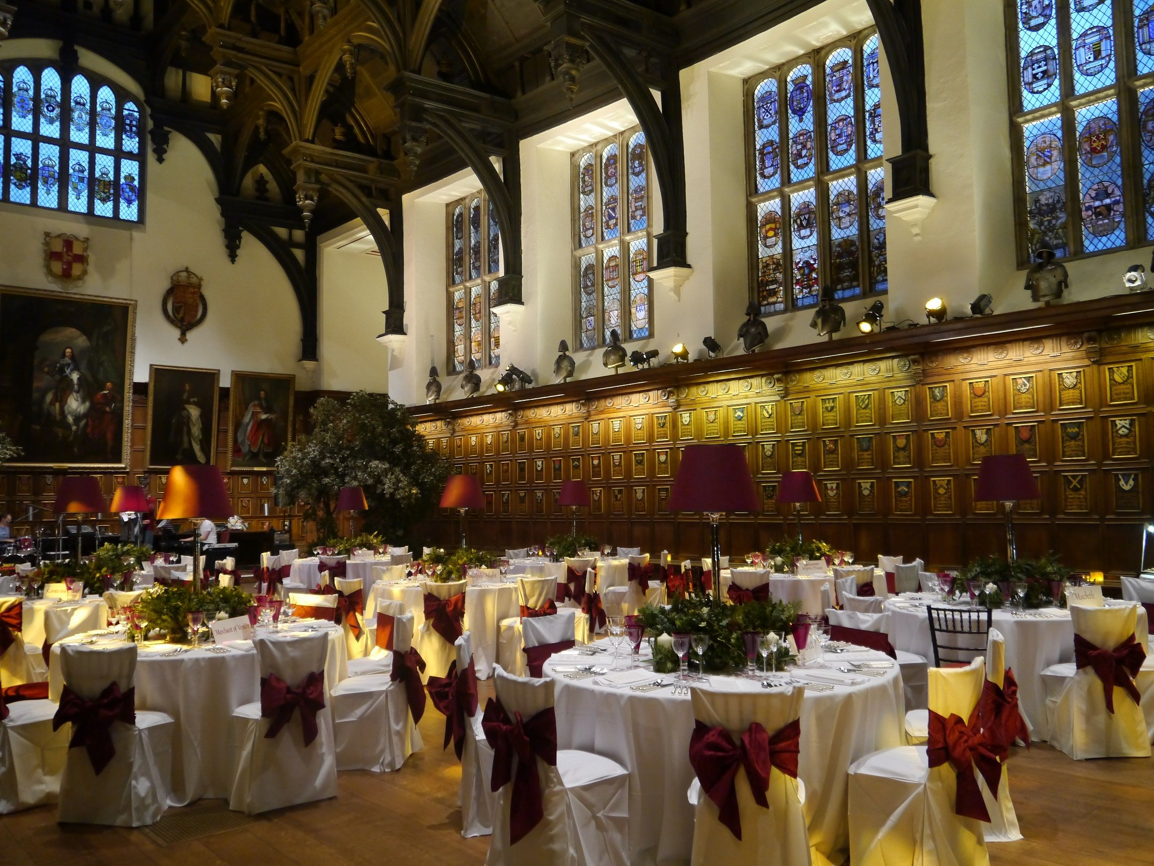 The Elizabethan Hall At London Venue Middle Temple Is Now Licensed For Civil Wedding Ceremonies