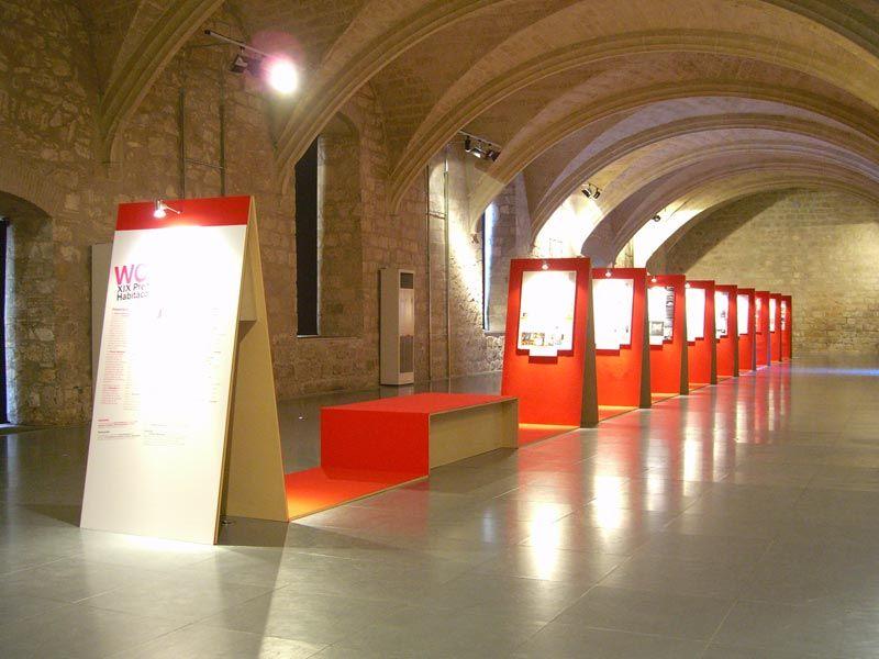Exposició Premis Habitacola 2007. WC City. FAD Convent dels Angels. FFWD Arquitectes www.ffwd.es