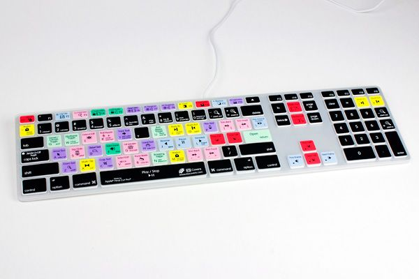 Keyboard Shortcut Skins - Become a whiz at Photoshop, Aperture, FCP, Pro Tools, and Logic with these pre-printed keyboard skins. ($30.00, http://photojojo.com/store)