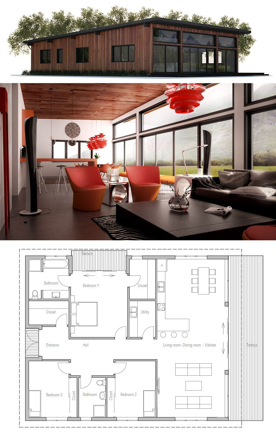 Small House Plan Small Home Plan Architecture Homeplan Houseplans Architecture Newhomeplan Adhouseplans Small House Plan Small House Plans House Plans