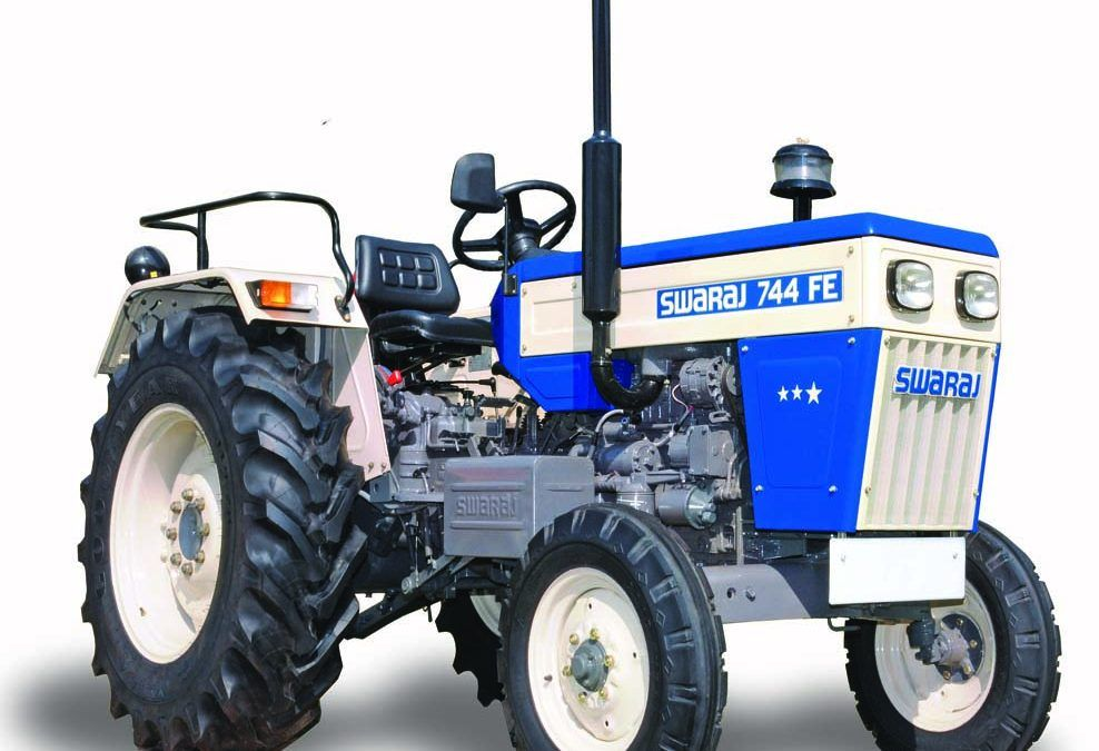 Swaraj 744 FE Track Tractor price in India Specifications