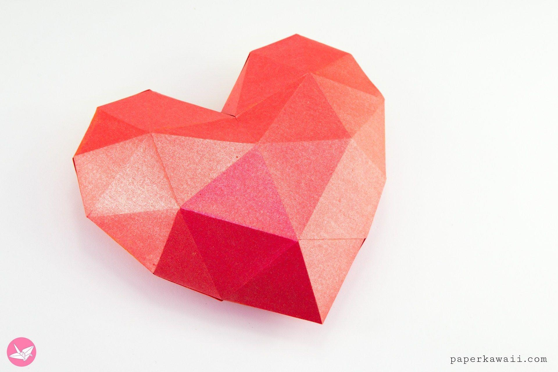 Love Heart Box Printable Template Paper Kawaii Shop 3d Paper Heart Printable Paper Heart