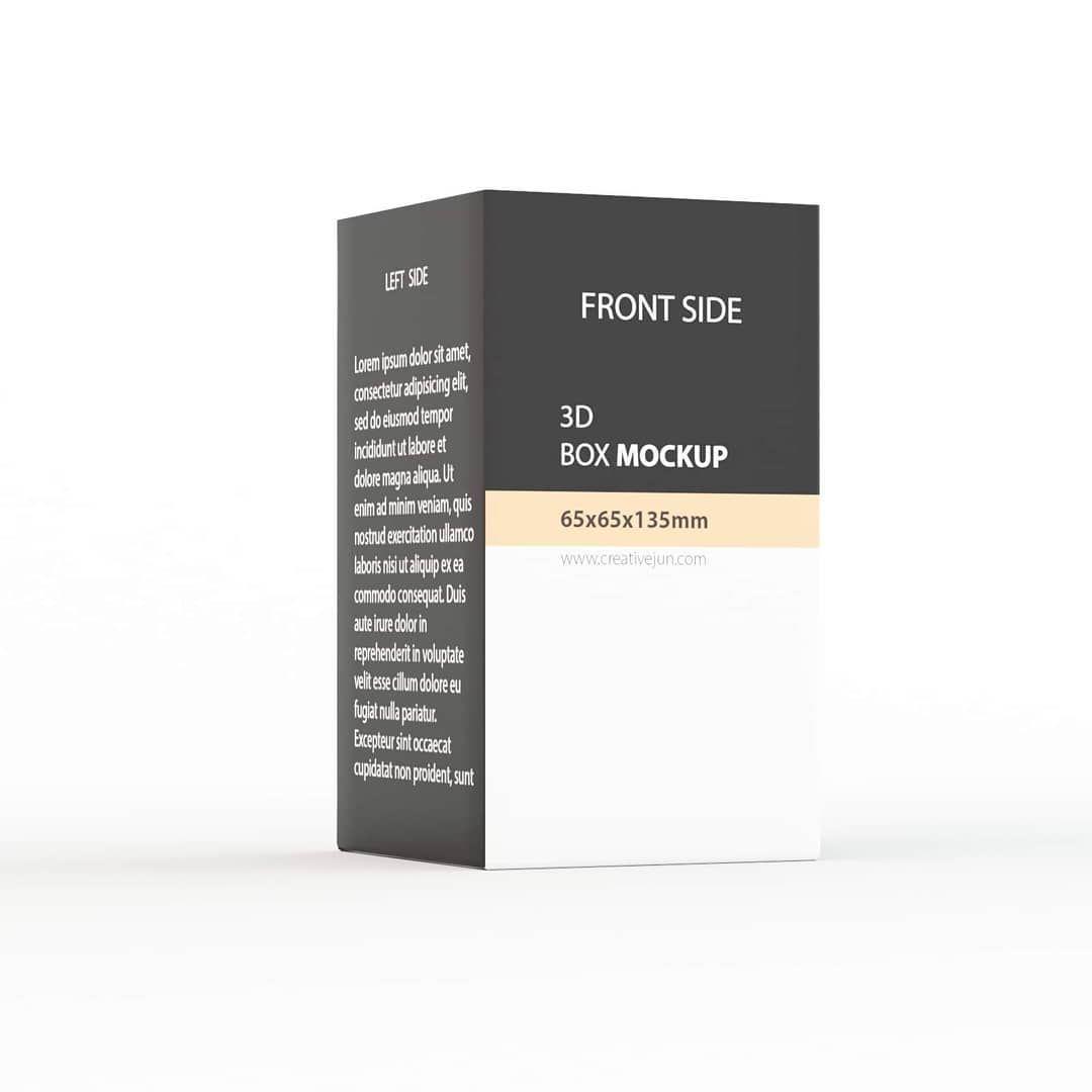 Download 3d Box Mockup Dribbble Dribbblers Product Box Mockup Render Rendering Renders Vrayrender Design Designer Design In 2020 Box Mockup 3d Design 3d Printing