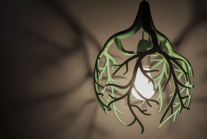 Arbolux lamp by James Phillips at Coroflot.com
