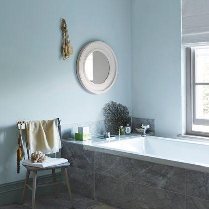 Laura ashley pale seaspray kitchen bathroom soft sheen paint 2 5l room ideas pinterest for What paint sheen for bathroom