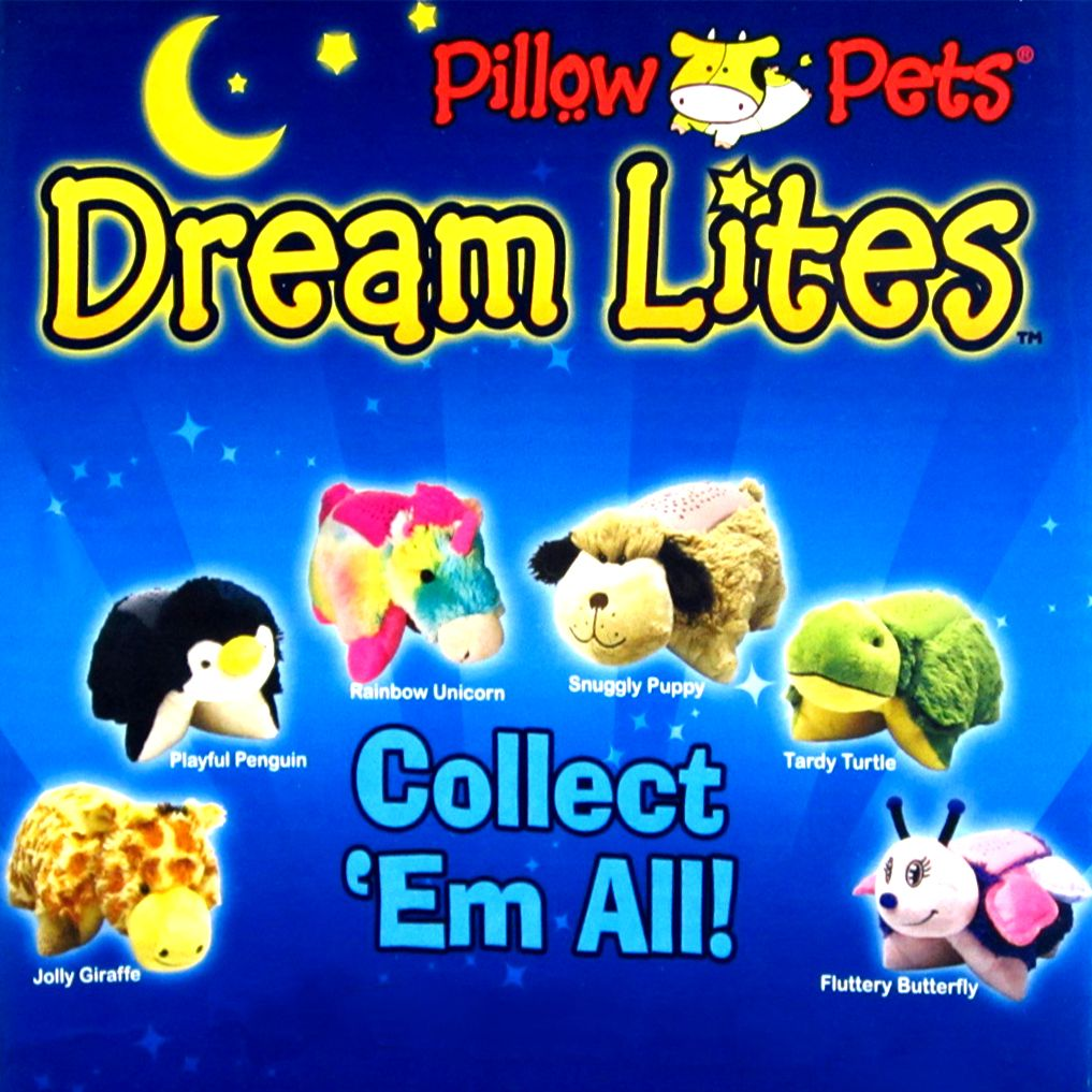 Glow Pets As Seen On Tv My Pillow Pets Dream Lites Night Light As Seen On Tv New With Images Animal Pillows Night Lite See On Tv