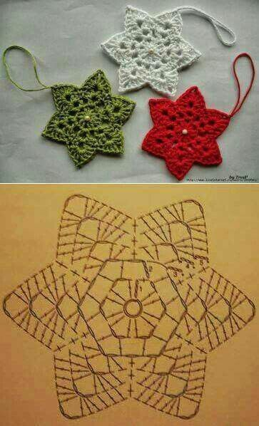 lexyskreativblog: Adventskalender - Türchen 6 #crochetgifts