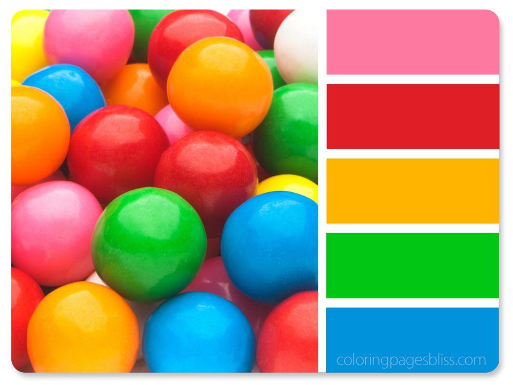 Bubble Gum Color Palette