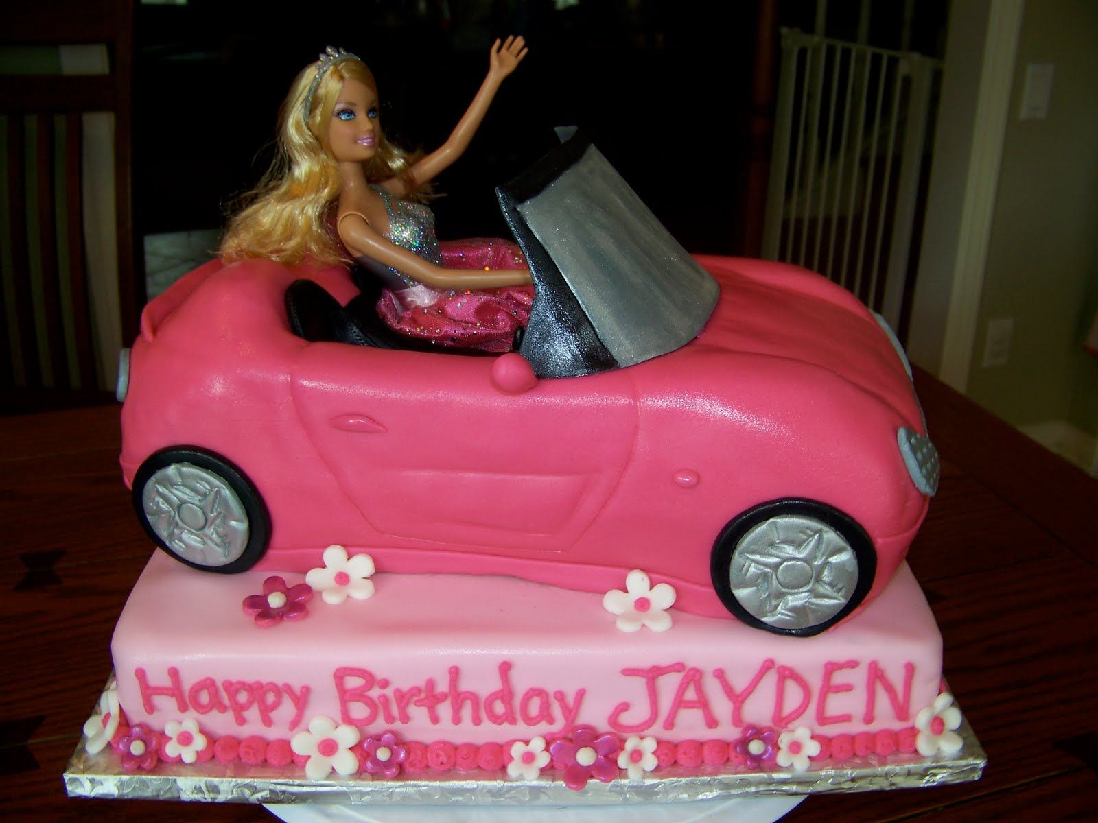 Plumeria Cake Studio Barbie Convertible Birthday Part Deux Cakes