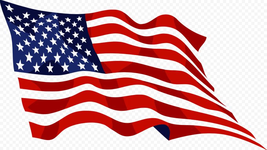 Outline Waving United States Usa Flag Usa Flag Flag American Flag