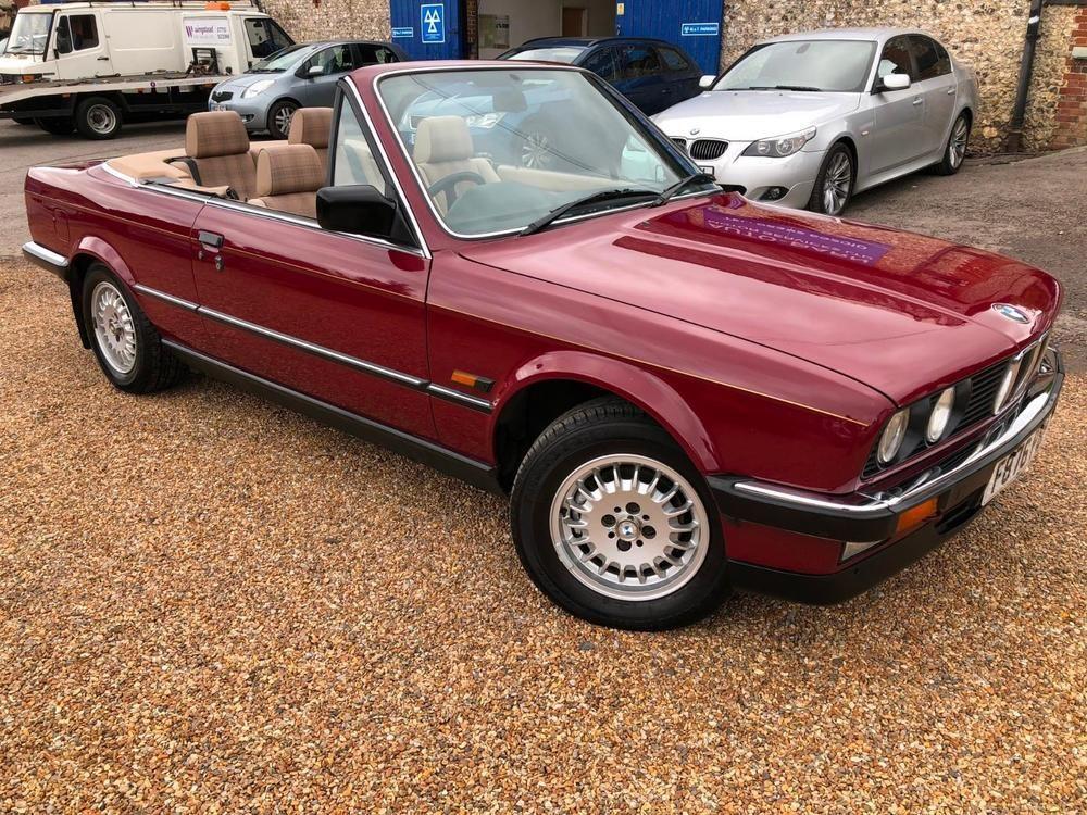 Ebay 1988 Bmw 325i Cabriolet Auto E30 Convertible Automatic Original Px Swap Cars 1980s E30 Convertible Bmw Cabriolets