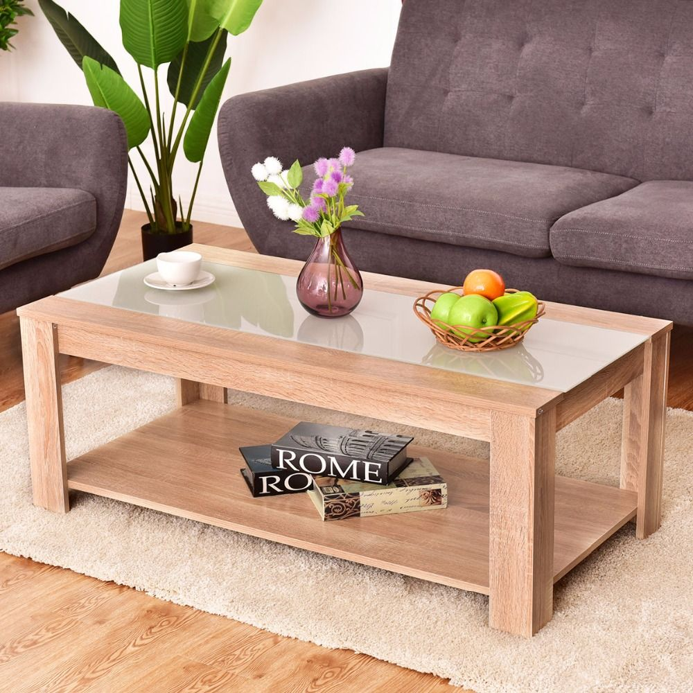 41+ Wood and glass coffee table rectangle ideas in 2021