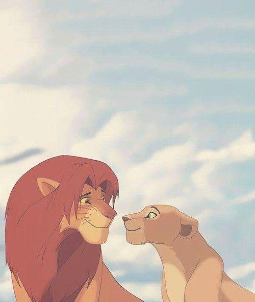 Simba & Nala� discovered by �레네💎 on We Heart It