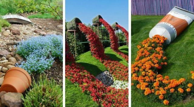 Wylewajace Sie Kwiaty Nowy Trend W Ogrodnictwie Warty Wyprobowania Pumpkin Patch Pumpkin Outdoor