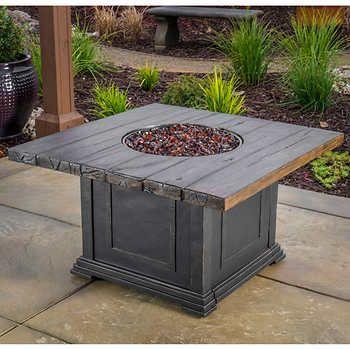 Veranda Classics™ Woodside Propane Fire Pit Table