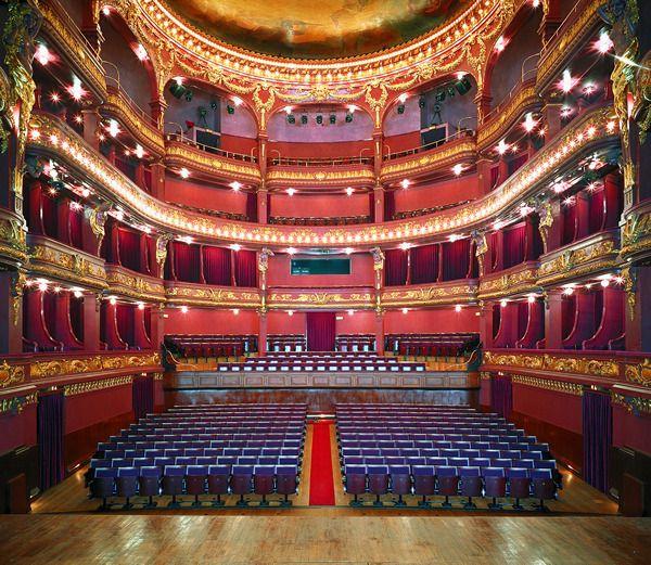 Teatro Nacional Sao João - view from stage