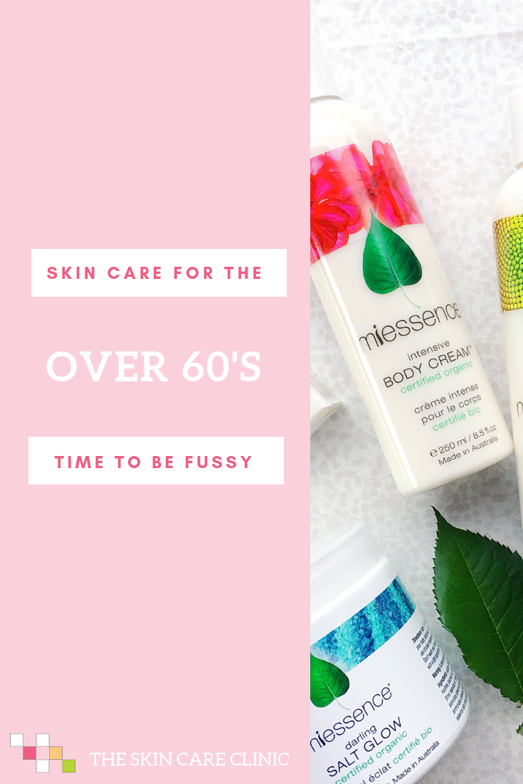 Skin Care Over 60 Time To Be Fussy Ageing And Skin Pinterest