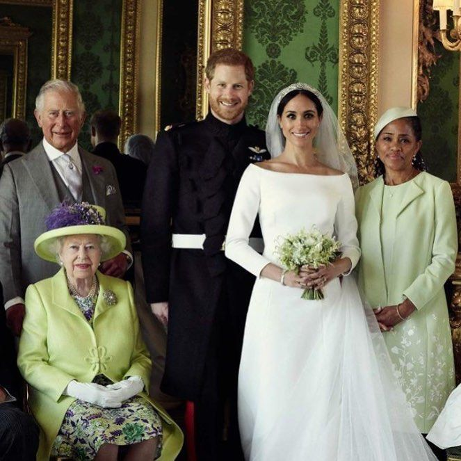 *PRINCE\u0027s CHARLES + HARRY, MEGHAN, (mother) DORIA RAGLAND + QUEEN ELIZABETH  II