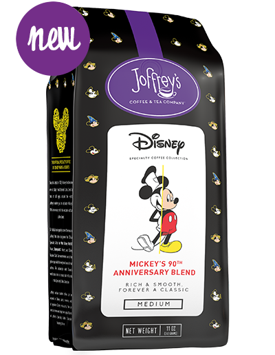 New Mickey S 90th Anniversary Blend From Joffrey S Coffee Blended Coffee Drinks Mickey Disney Merchandise