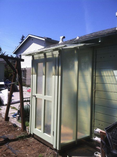 Outdoor Laundry Enclosure Garden Shed Pinterest