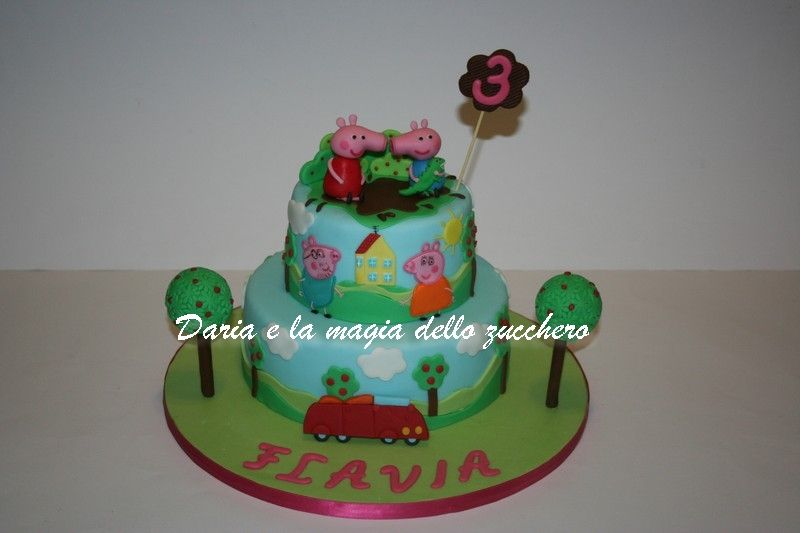Torte Bambini ~ Torta peppa pig peppa pig cake peppa pig children cakes torte
