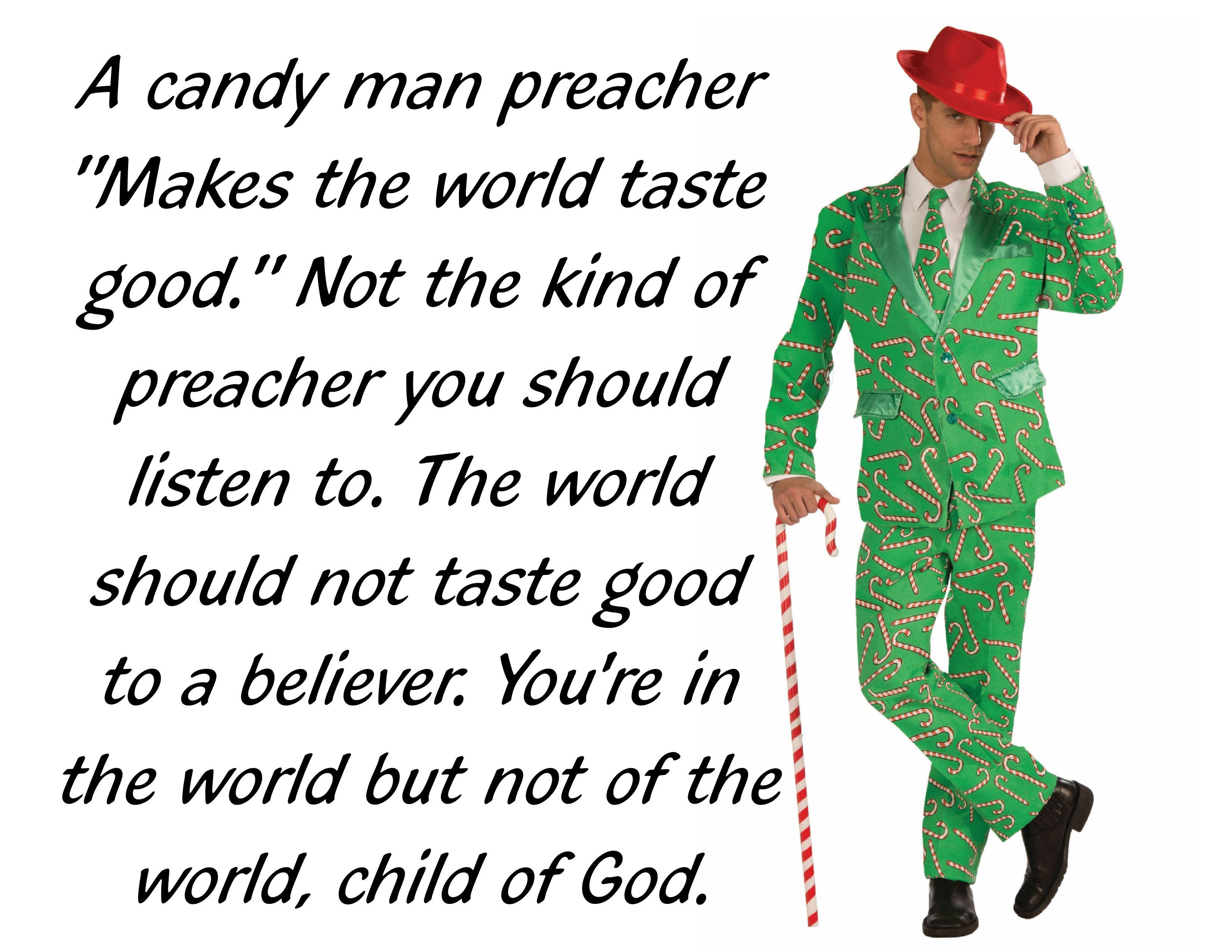 Candy Man Preacher