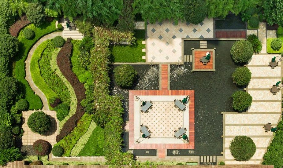 Rooftop Garden Layout