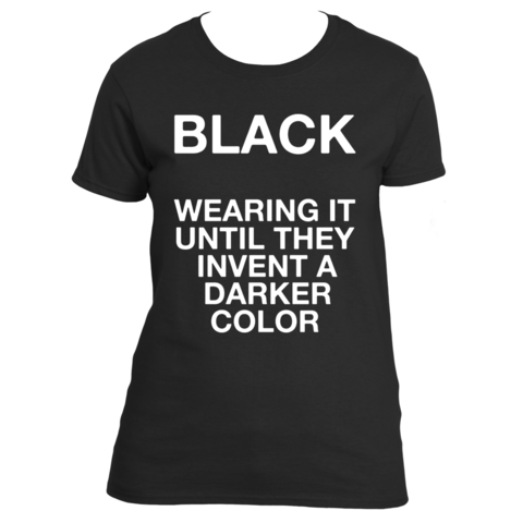 Cover your body with this amazing Wearing Black t shirt from Underground Statements. Buy your favorite Wearing Black shirt from Underground Statements. Shop now! Ultra Cotton® 100% Cotton T-shirt 6.1