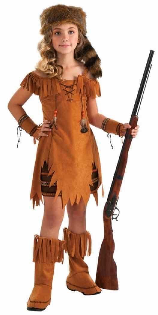 Danielle Boone Daniel Frontier Hero Explorer Fancy Dress Halloween - halloween teen costume ideas